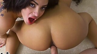 Bangbros - Interracial Threeway With Latin Milf Kitty Caprice And Young Ebony