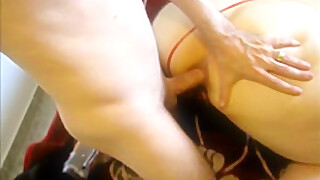 Footjob, Anal, and tugjob
