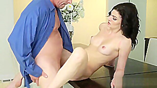 Stepdad Slamming His Sexy Jessica Rex