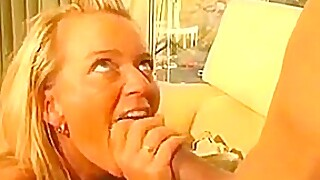 German Blonde Blowjob 2-3 - Tyr