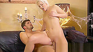 Dane Jones Hot Teen Blonde Gets Creampie Fucking