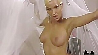 Lady-boy Alicia Wants To Jack Off For Us