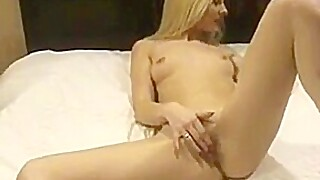 Jo May Solo On The Bed