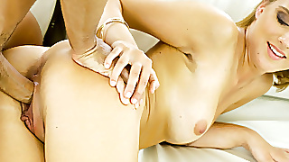 Shy Girl Introduced To A Big Dick To Play With