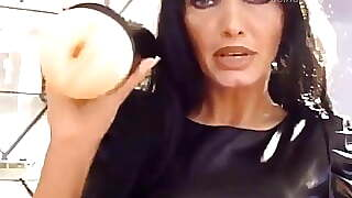 German Domina Miling Cock With Fleshligh Sextoy
