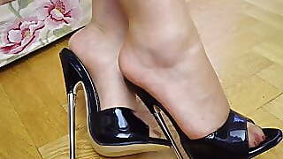 Feet In Nylon - Video 42