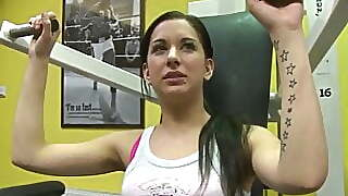 Denisa From The Gym