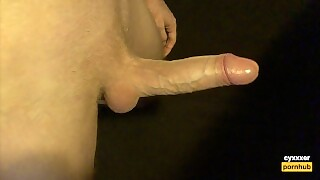 Horny Fit Guy Stroking His Big Dick - Intense Moaning And Shaking Cumshot