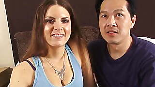 Asian Dude Has A Hot White Girlfriend