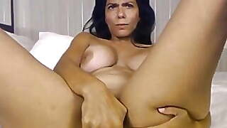 Mind Blowing Goddess Self Gratification With A Toy