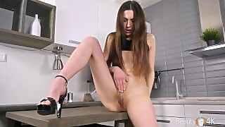 Beauty-angels - Lika B - After-party Masturbation On Table
