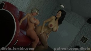 Rikolos Sarah And Miranda Lawson Have Some Fun
