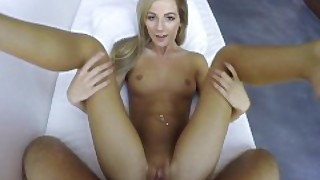 Povd - Lean Blonde Bella Rose Grinds On Thick Cock