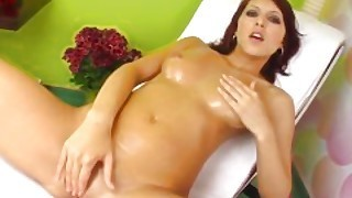 Watch This Solo Girl Anne Masturbating On Give Me Pink With Passion