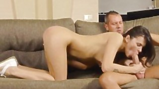 I Fucked Her Finally - Dude Gets Blowjob And Sex As A Welcome