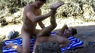 Jessica Jaymes Gets Fucked Outside In The Beach By A Huge Cock Big Boobs