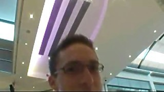 Silvie Delux Czech Amateur Threesome Sex In Shopping Centre