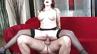Milf In Stockings Likes To Get Penetrated