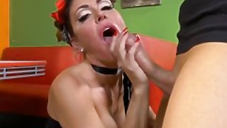 Jessica Jaymes Sucking A Monster Cock Huge Tits Pinup Outfit And Big Booty