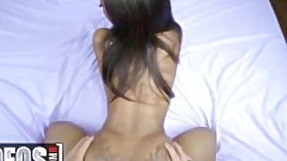 Mofos - Hot Ebony Teen Sarah Banks Does Anal For The First Time