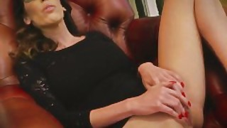 Dava Foxx Enjoys Herself With A Big Black Dildo
