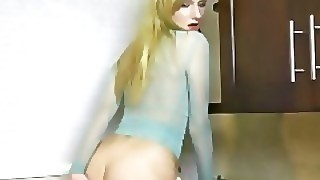 Behind The Scenes: Hot Teen Melody Strips And Puts A Finger In Her Butthole