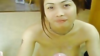 Titty Fuck With Huge Chested Thai Babe With Two Cumshots