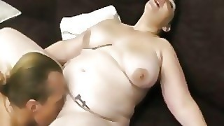 Fat Bitch Is Picked Up And Cunt Drilled