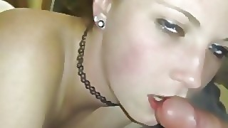 Gf Sucking My Dick While Stranger Fucks Her From Behind