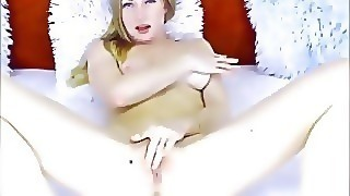 Sexy Beautiful Teen Toy And Squirt On Her Webcam Solo Show