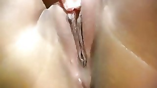 Superb Brunette Asian Teen Masturbates Her Wet Cunt