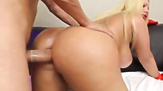 Shemale Plumper Rammed In Butthole