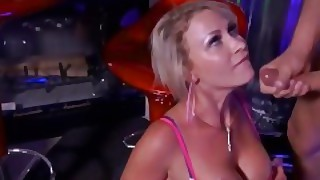 Sex Stripper Decides To Give Her Customer An Extra Lap Dance