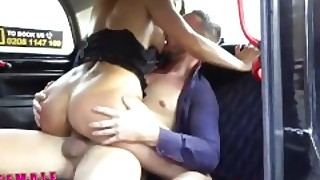 Female Fake Taxi Stud Fucks Sexy Drivers Pussy