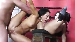 Mistresses Asa Akira And Jessica Bangkok Have A Threesome With Lucky Guy