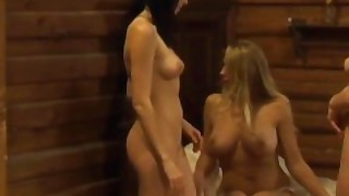 Lesbian Madame Teaching Slaves How To Pleasure Female Body