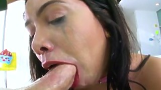 Swallowed Aaliyah Hadids Sloppiest Blowjob Ever