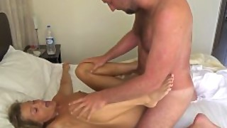 Hard Fucked For A Dripping Creampie