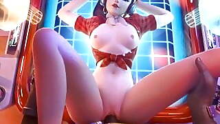 Overwatch Heroes Get Missionary And Doggystyle Sex