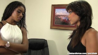 Sexy Black Lesbians 69 Together