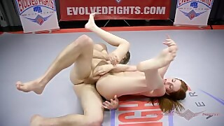 Maya Kendrick Fucked On The Wrestling Mat In Mixed Nude Wrestling Fight