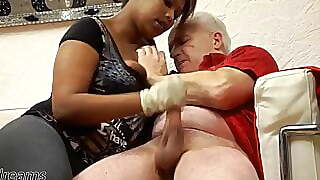 Coccos Ruined Orgasm Handjob With Latex Gloves