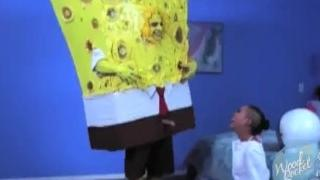 On The Porn Set Of Spongeknob Squarenuts
