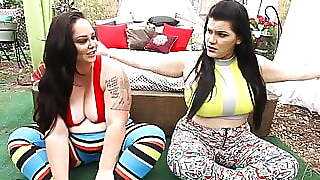 Curvy Cuban Angelina Castro Faps Phat Pussy With 2 Big Buds