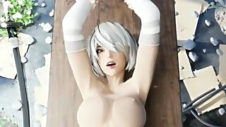 2B Railed Over A Table