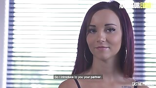 AmateurEuro - Hot French Redhead Teen Fucked Super Hard At Porn Audition