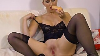 Stockingvideos - Cum All Over My Face The More The Better