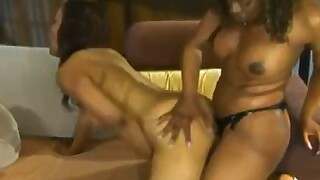 Two Black Whores Fuck Each Others