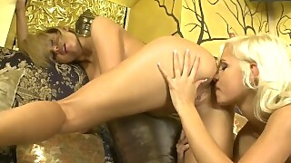 Lola And Zoe Have Some Lesbian Fun With Their Toys