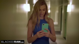 Blackedraw Hot Blonde Cheats And Records All Of It